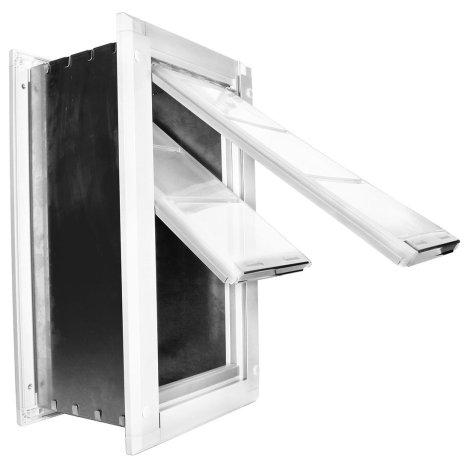 best dog door for wall by Endura Flap Double