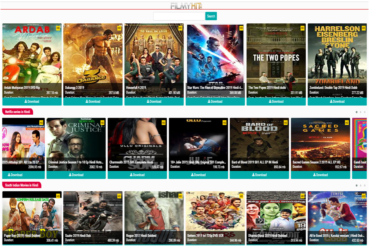 Filmyhit 2020 Download Bollywood Hollywood New Movies