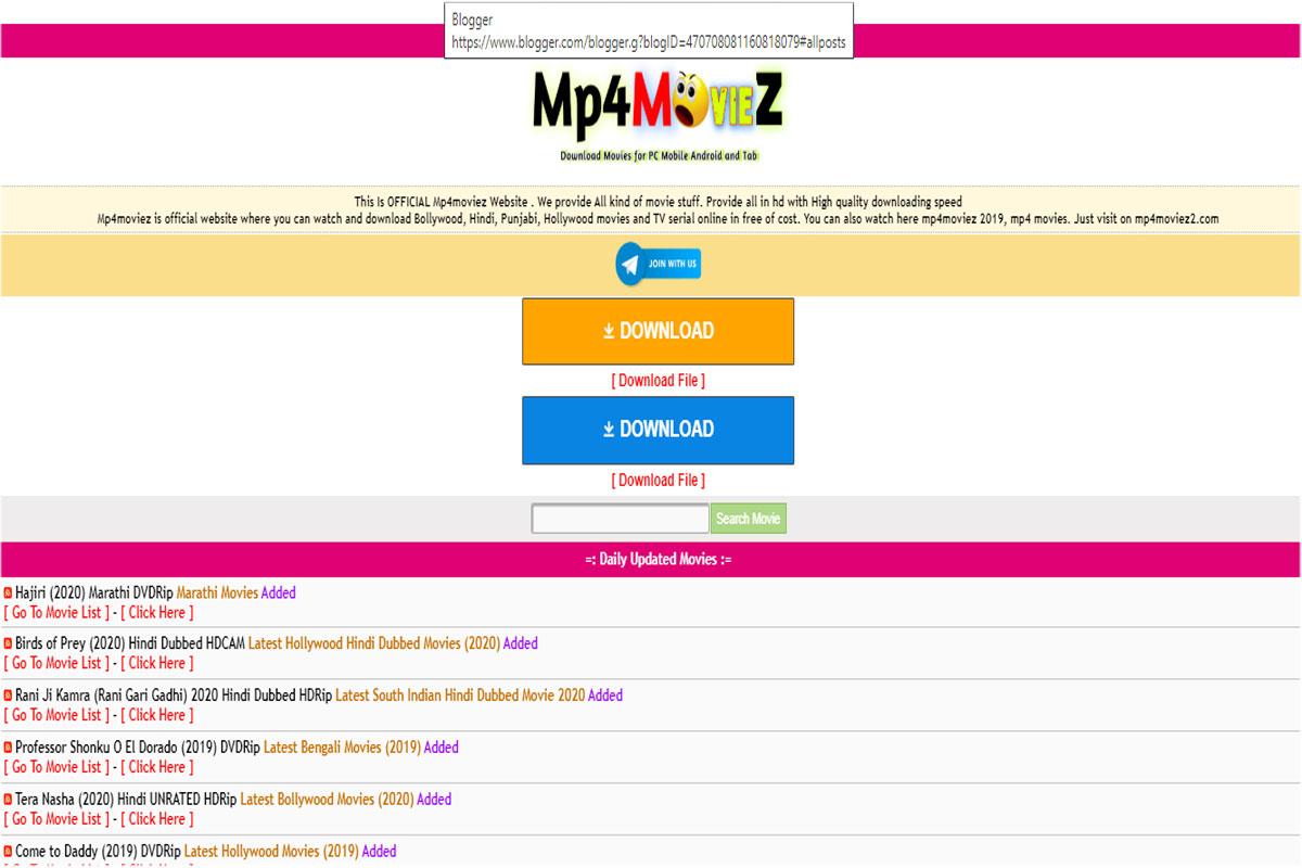Mp4moviez free movies New movies