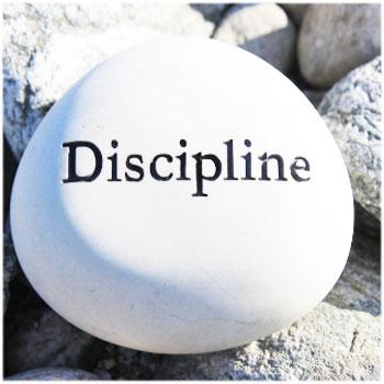Discipline - Key of Success