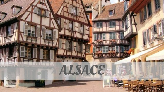How To Say Alsace
