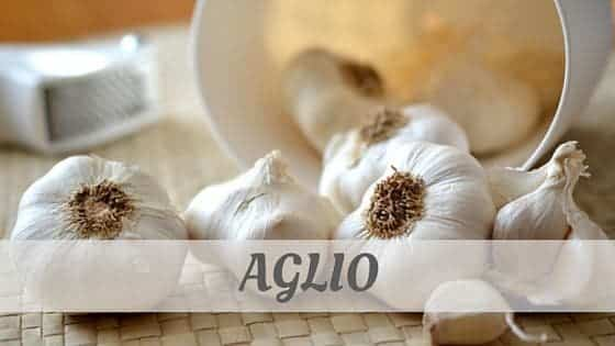 How To Say Aglio