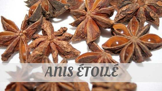 How To Say Anis Étoilé