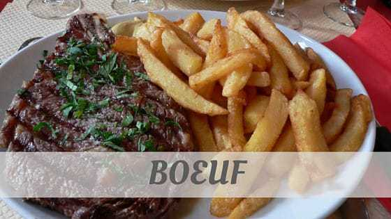 How To Say Boeuf