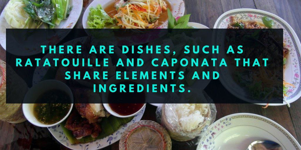 How Do You Say Various Cuisines Dishes Terms