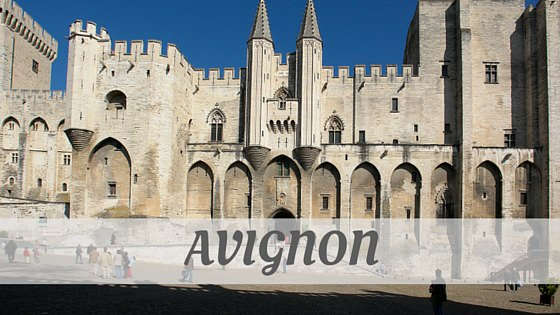 How To Say Avignon