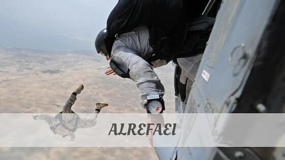 How To Say Alrefaei