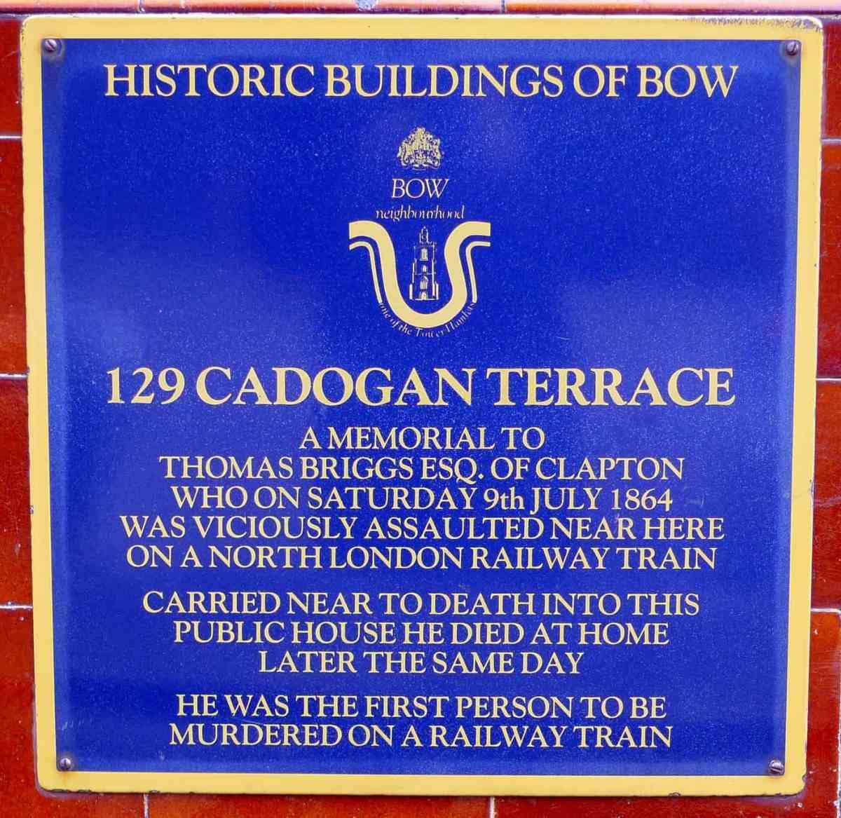 Cadogan Street Sign in London