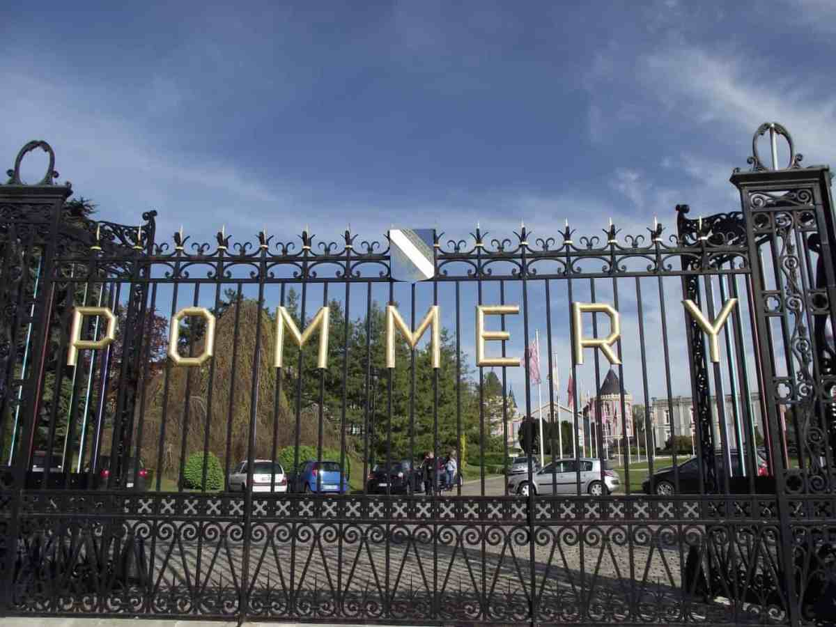 Pommery Champagne Chateau in Reims