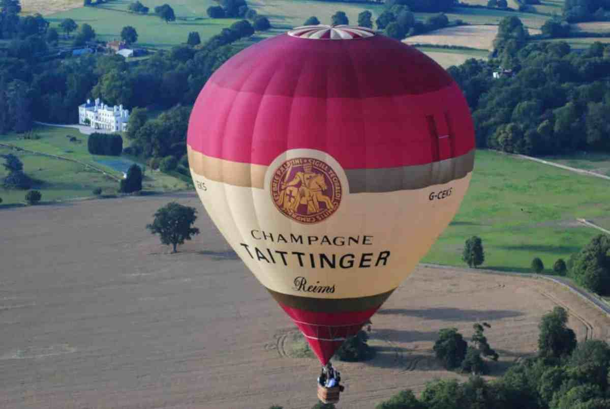 Taittinger Champagne Hot Air Balloon