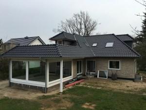 Dach Wintergarten Gaube