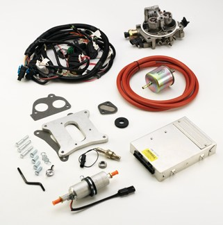 #k247b – tbi kit: universal v-8 – howell efi conversion ... jeep howell fuel injection wiring diagram howell engineering wiring diagram