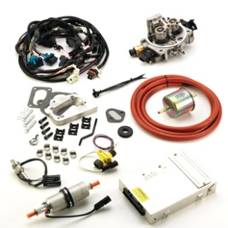 #CA/YJ258 - TBI KIT: JP1 Emission Legal Version CARB EO #D452 1987-91 YJ Wrangler 4.2L Emissions Legal