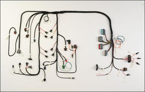 hy47t lt1 harness 1994 97 corvette w electronic transmission howell wiring harness hy57t lt1 harness 1994 97 corvette w electronic transmission 4l60e