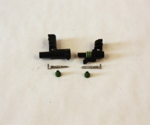 #WP265 - Weatherpack Connectors, single male and female