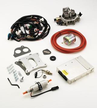 tbi fuel injection wiring harness k247p tbi kit 454 502 hp tbi 2bbl howell efi conversion  k247p tbi kit 454 502 hp tbi 2bbl