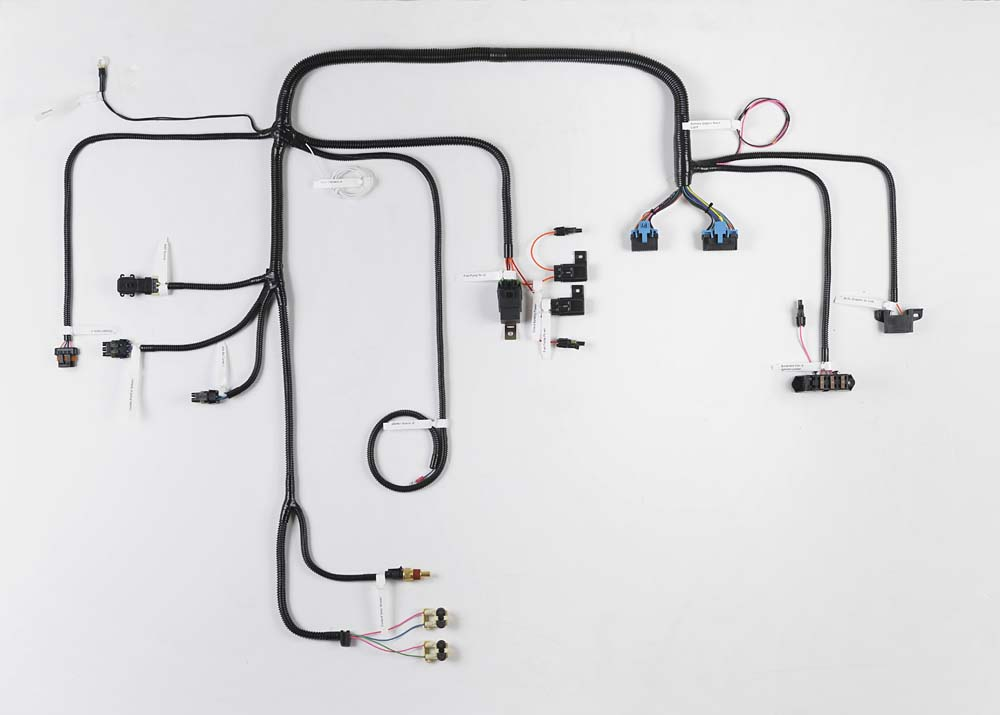 tbi conversion wiring harness