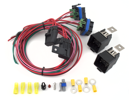 df220 dual fan control kit howell efi conversion wiring rh howellefi com