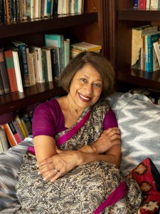 Portrait of Shaheen Rushd at home