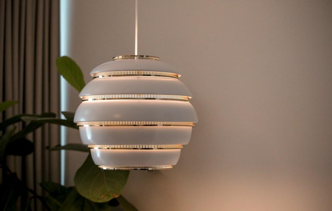 Alvar Aalto lamp Helsinki