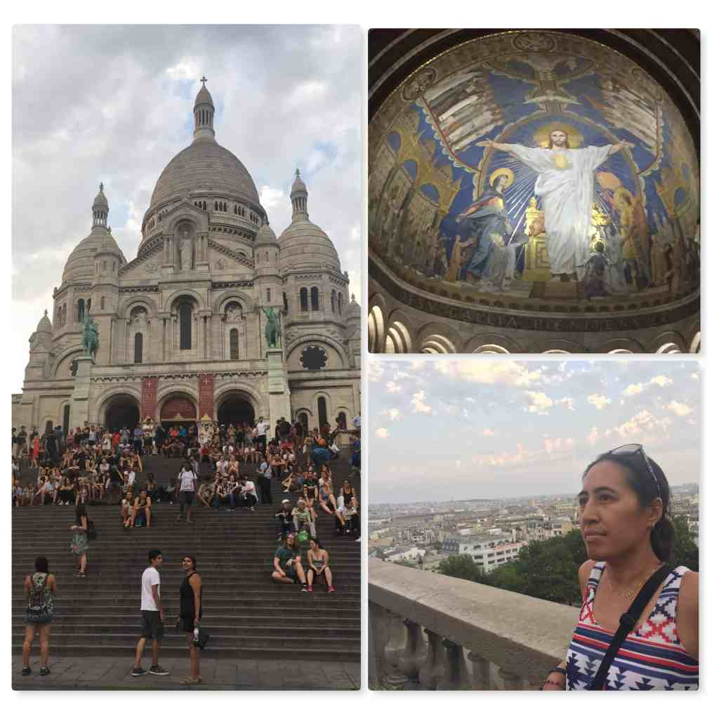 Paris Sacre Coeur inside basicila