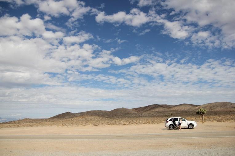 Pierwszy postój na pustyni - cisza