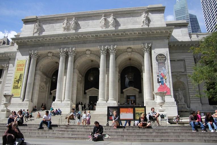 Budynek główny Nowojorskiej Biblioteki Publicznej