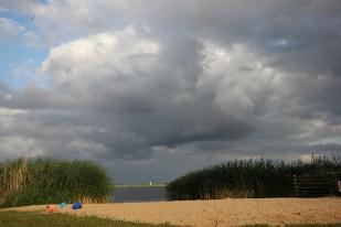 Plaża w porcie w Popielnie