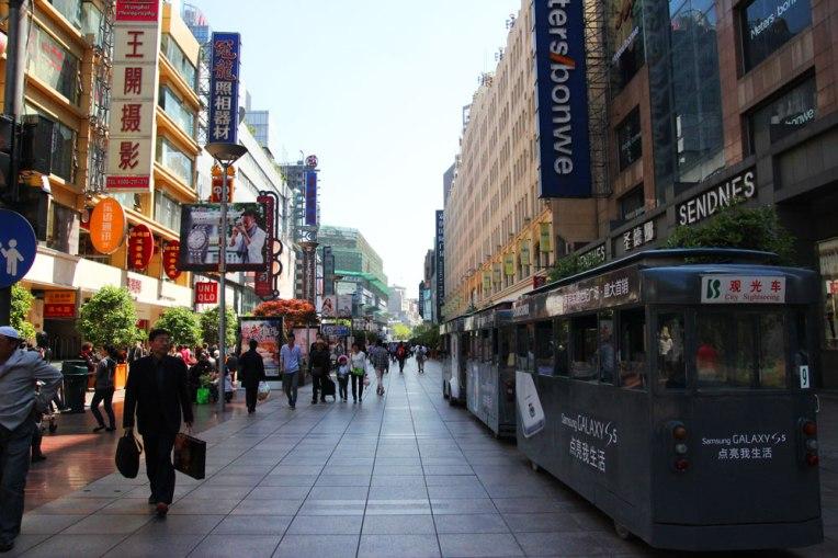 Nanjing Rd - deptak jaki jest, każdy widzi