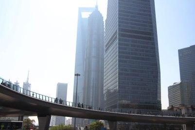 Szklane domy na Pudong