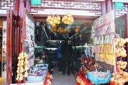 Grzebienie, pałeczki i inne cuda w dzielnicy Yuyuan