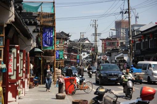 Yuyuan - sklepy po horyzont