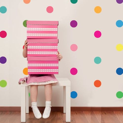 Spots are a fun and simple way to brighten up a room!