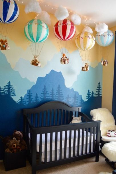 Or why not just go for it and create that WOW factor for your child and their nursery.