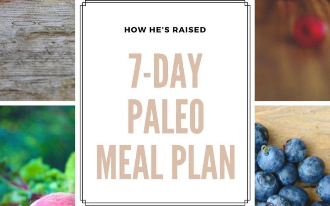 7-Day Paleo Meal Plan