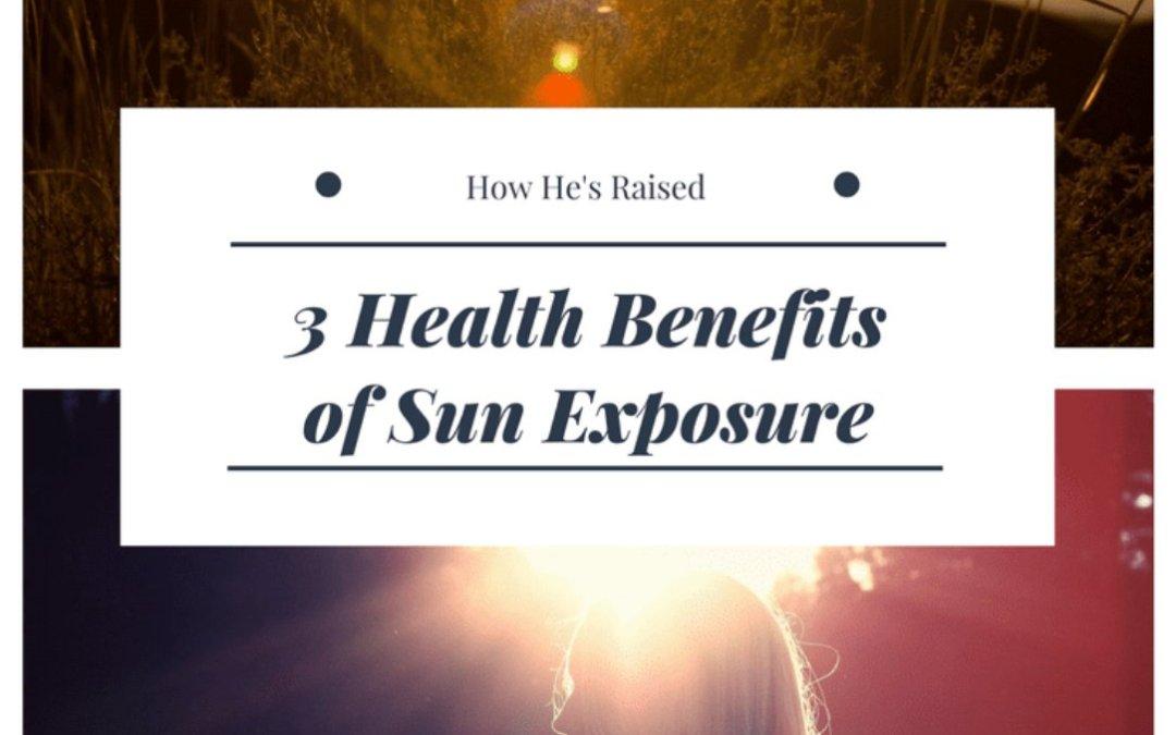 3 Health Benefits of Sunlight