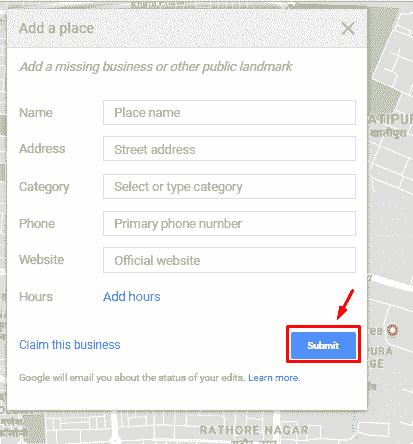 google maps new address set up live computer