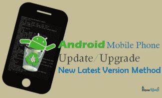 Android Mobile Phone Update कैसे करें Latest Version Hindi