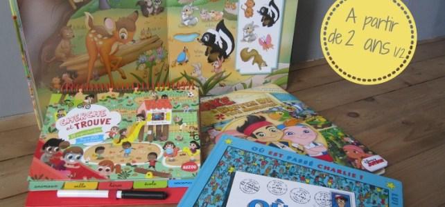 Les livres-jeu «cherche et trouve», pour une valise plus légère!