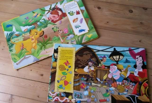 avis livres jeux cherche et trouve Pi kids
