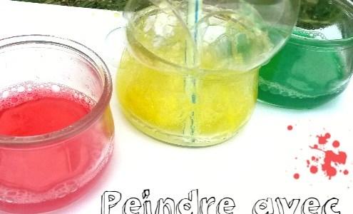Et si on faisait des bulles colorées?