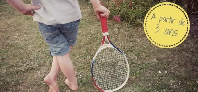 raquette tennis enfant