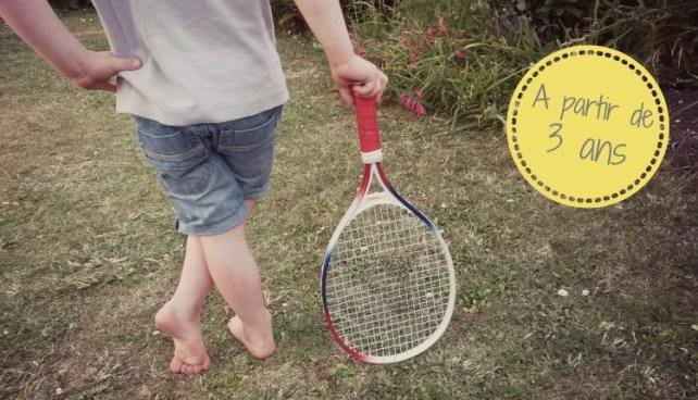 Astuce pour jouer aux raquettes tennis avec les enfants ballon baudruche