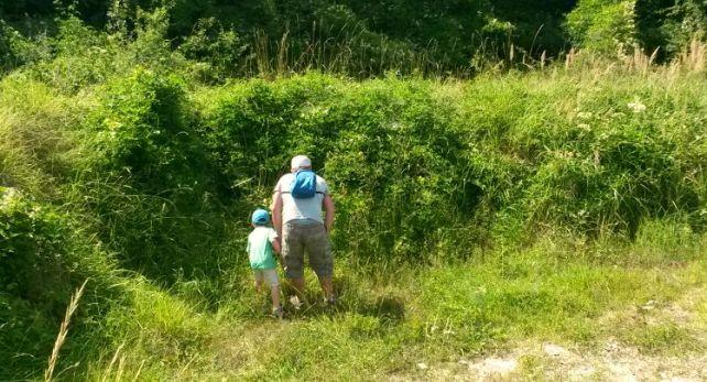 A la recherche d'une Géocache idée activité nature avec enfant
