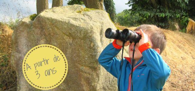 Géocache chasse au trésor nature avec enfants