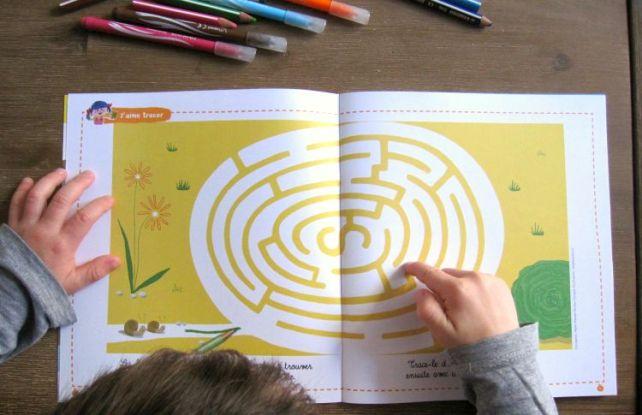 labyrinthe pomme d'api montessori