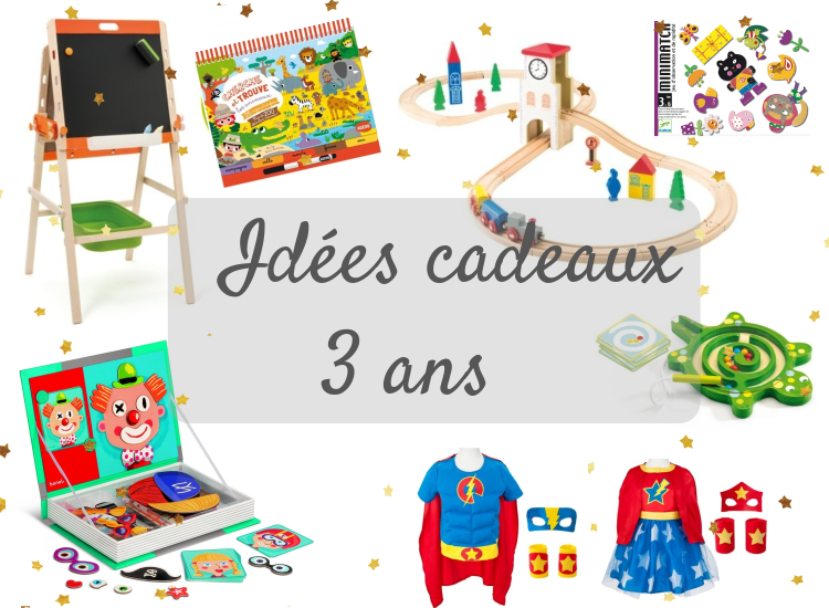 Ma liste de cadeaux  à 3 ans · How I Play with my mome