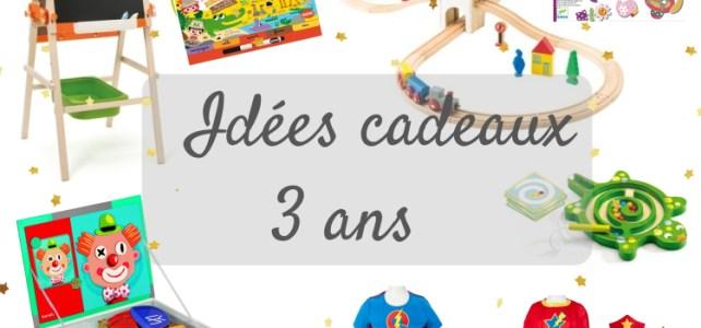 Liste Idée cadeau jouets Noël anniversaire enfant 3 ans
