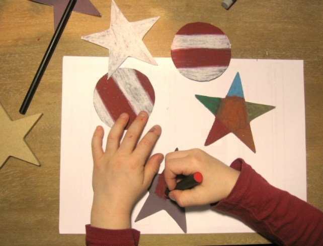 décoration Noël magique coloriage pastel