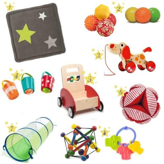 liste cadeaux Noël bébé exploration